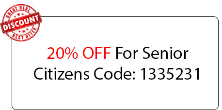 Senior Citizens 20% OFF - Locksmith at Buffalo Grove, IL - Buffalo Grove Il Locksmith